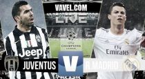 Juventus vs Real Madriden vivo online en semifinales Champions League 2015
