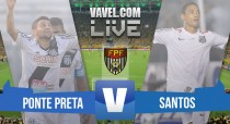 Resultado Ponte Preta x Santos pelo Campeonato Paulista 2016 (0-2)