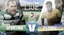 Victoria de redención del Sporting ante Estoril-Praia