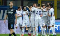 La Fiorentina espugna San Siro, Salah regola l'Inter