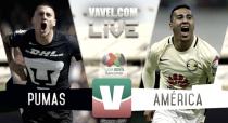 Resultado y goles del Pumas 2-3 América de la Liga MX 2017