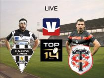 Live Top 14 : CA Brive Rugby vs Stade Toulousain