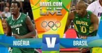 Brasil x Nigéria no basquete masculino dos Jogos Olímpicos