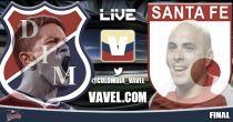Independiente Medellín vs Santa Fe, final Liga Postobón 2014 en vivo y directo online