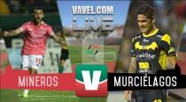 Resultado Mineros Zacatecas vs Murciélagos en Ascenso MX 2015 (2-0)