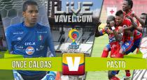 Resultado Once Caldas vs Pasto Liga Águila 2016 (0-0)