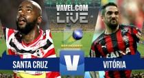 Jogo Santa Cruz x Vitória ao vivo online no Brasileirão Série B 2015
