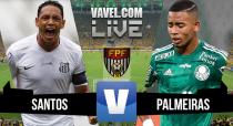 Resultado Santos x Palmeiras na semifinal do Campeonato Paulista 2016 (2-2)