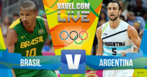 Brasil x Argentina no basquete masculino dos Jogos Olímpicos