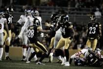 Steelers domina Giants e segue na cola do Ravens, líder da AFC north