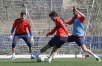 Rubi recupera efectivos para el Sporting