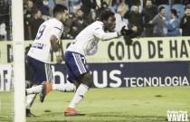 Dongou salva un punto en La Romareda