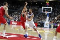 Eurolega, Llull guida il Real alla vittoria nell'opening night contro l'Olympiakos