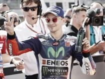 Lorenzo lost it all in the final stages of Qualifying in Brno