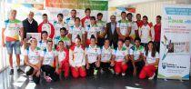 Jornada de puertas abiertas del equipo nacional de piragüismo en el CEAR Cartuja