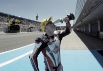 Britain's Sam Lowes wins Moto2 race in Jerez