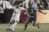 Elenco do Santos valoriza vitória na primeira decisão e condena postura do Palmeiras