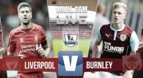 Liverpool vs Burnley, Premier League en vivo y directo online