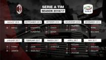 Milan, l'analisi del calendario: esordio casalingo contro l'ex Mihajlovic. Il derby alla 13esima giornata