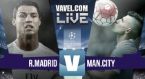 Real Madrid vs Manchester City Live Stream Score Commentary in Champions League 2016