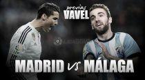 Real Madrid - Málaga: con Europa en la cabeza