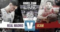 El Real Madrid se lleva el primer encuentro ante un UCAM Murcia combativo