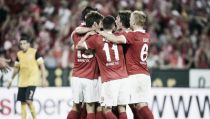 Kasper Hjulmand gets Mainz off to a winning start