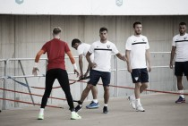 El Málaga vuelve al trabajo pensando en el Villarreal