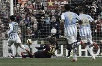 Barcelona - Málaga: puntuaciones del Málaga, 24ª jornada Liga BBVA