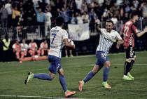 El Málaga tiene precisión en los costados