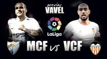 Previa Málaga CF - Valencia CF: en tierra de nadie