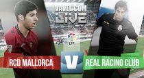 Resultado Mallorca - Racing de Santander en la Liga Adelante 2015 (2-3)