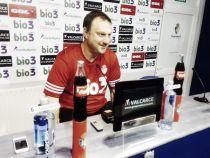 """Manolo Díaz: """"Hemos jugado a un nivel aceptable en casa y el domingo no va a ser una excepción"""""""