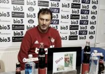 """Manolo Díaz: """"El Almería lleva mucho tiempo sin ganar y tenemos que ponérselo muy difícil"""""""