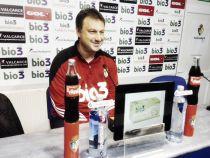 """Manolo Díaz: """"Hay que ir con cautela y tranquilidad, no perder el objetivo"""""""