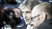 """Manuel Pellegrini: """"Hemos tenido una muy buena respuesta de todo el equipo"""""""