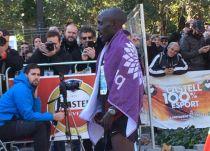 Kosgei se queda a un segundo del récord de Castillejo en Castellón