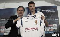 Fotos e imágenes de la presentación de Marc Bertrán con el Real Zaragoza