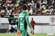 Marcelo Barovero, contento por lo hecho en el Apertura 2016