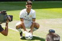 Así fue el acto de presentación de Marco Asensio por el Real Madrid