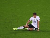 Mario Gómez se despide de la Eurocopa