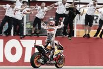 Marc Márquez reina en la vergüenza de Michelin
