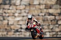Márquez demuestra su fortaleza en Aragón