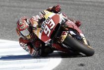 Marc Márquez, el más rápido en los test de Jerez