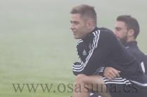 Matej Pučko y Urko Vera, convocados contra el Mirandés