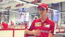 Esteban Gutiérrez, contento por la victoria de Ferrari