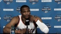"""Russel Westbrook: """"No he hablado con Durant"""""""