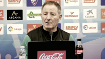 """Anquela: """"Cuando juega el Huesca, el partido no es feo"""""""