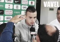 """Tomás Maya: """"espero que me den la confianza para estar el jueves"""""""