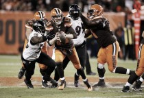 Los Browns siguieron su caída libre frente a Ravens